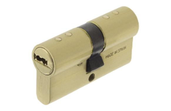 Cilindro tx80 laton llave puntos 30-40