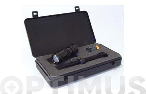 Linterna aluminio led est.x-22 86522