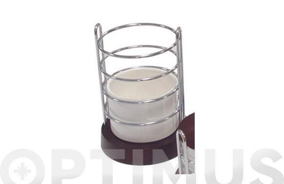 Bote para utensilios cocina ceramico wengue