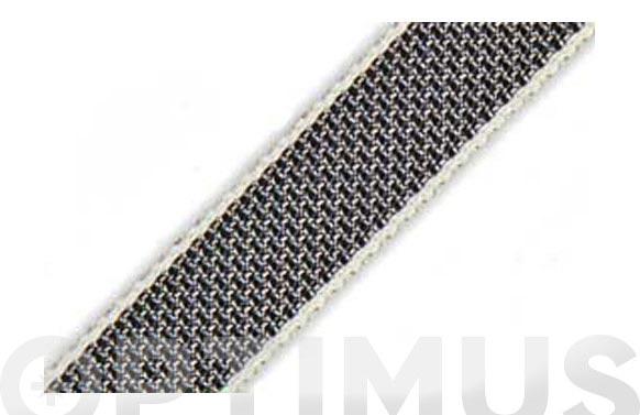 Cinta persiana gris claro 50 m x 14 mm 2 rollos total 100 m