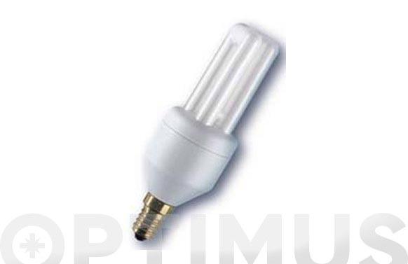 Bombilla bajo consumo dulux el econo e14- 8 w-luz calida
