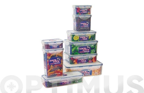Contenedor alimentos rectangular alto 850 ml