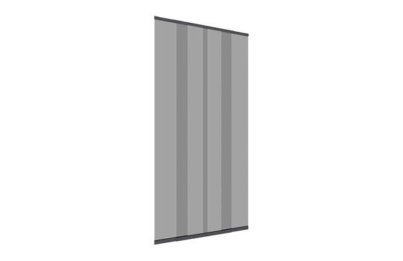 Cortina corredera mosquitera para puerta 220 x 95 cm antracita