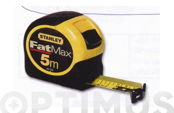 Flexometro bimateria fat max 5 m x 32 mm