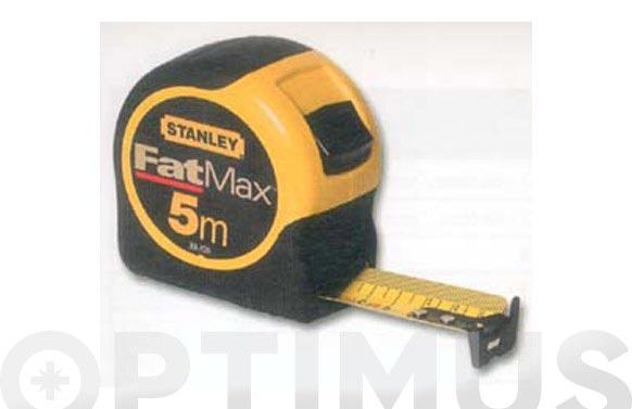 Flexometro bimateria fat max 8 mt x 32 mm