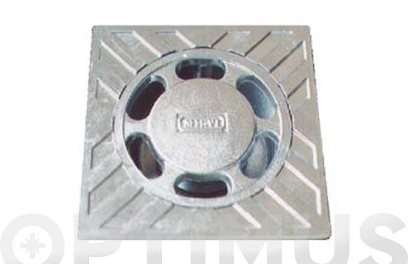 Sumidero aluminio 0-100 mm