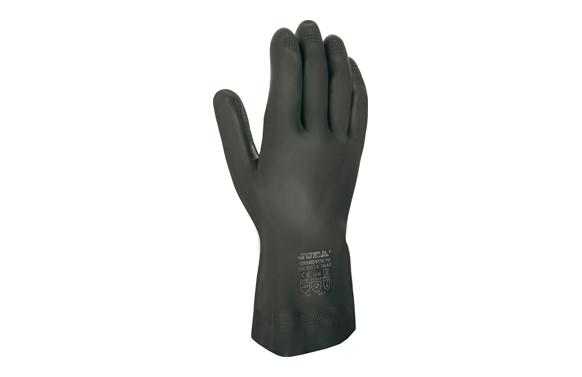 Guante neopreno y latex negro grandeur 70 t 9