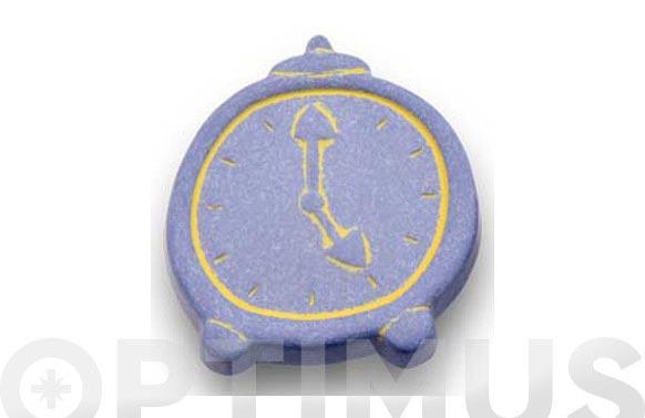 Pomo infantil nilon reloj azul