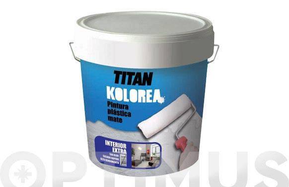 Pintura plastica interior 5 kg blanco mate