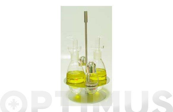 Vinagrera antig base inox jgo 67-jn nido