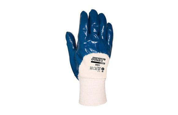 Guante nitrilo pesado t l azul