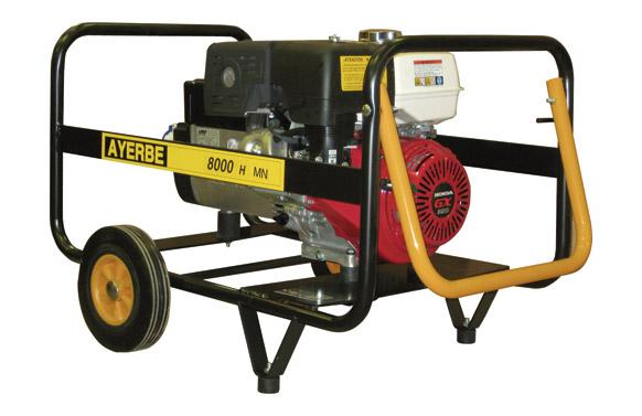 Generador ay-8000 honda mn 13 hp 8kva