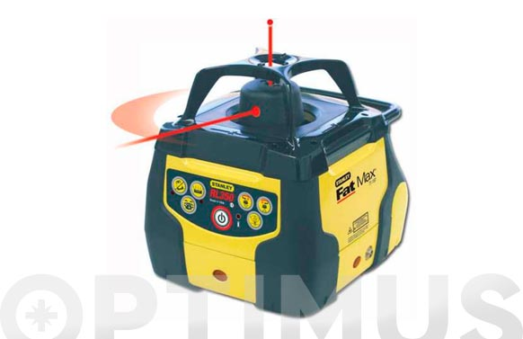 Nivel laser rotativo fat max rl 350 nivel láser rotativo autonivelante stanley fatmax