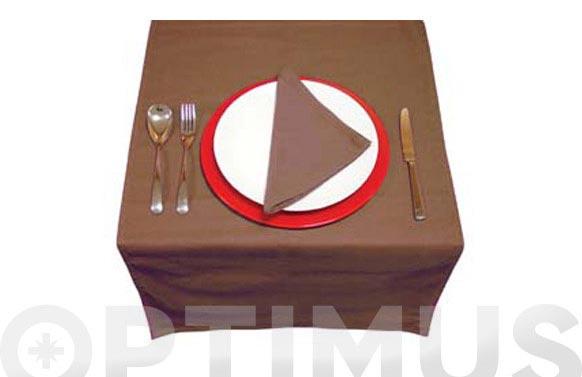 Camino de mesa + 2 servilletas chocolate