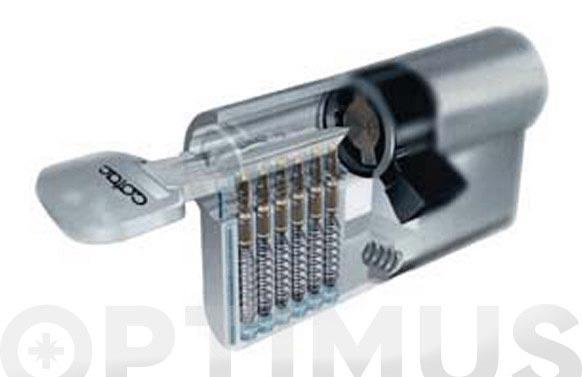 Cilindro laton llave puntos 30-30 llaves iguales grupo a