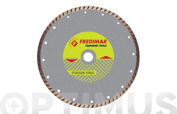 Disco diamante general obra brico-cut 230 turbo