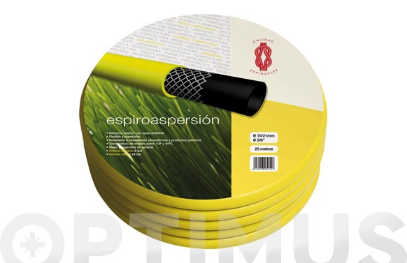 Manguera agricola amarilla espiroaspersion ø 30 mm