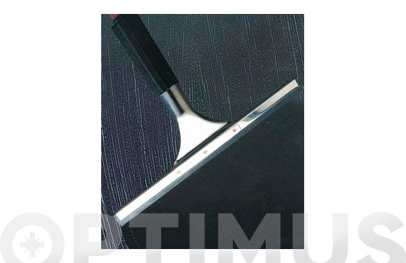 Limpiacristales inox con adaptador mango 25 cm ideal