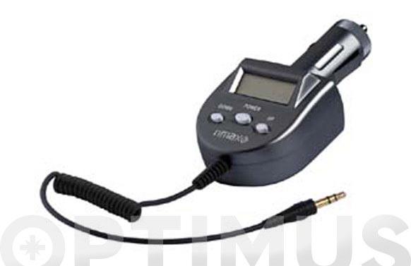 Adaptador transmisor coche mp3 music car tr