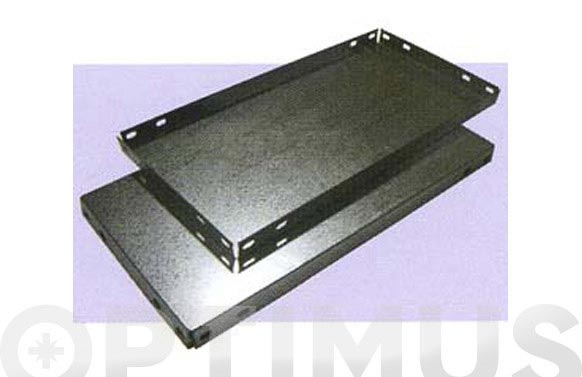Bandeja estanteria galvanizada 800 x 400 mm