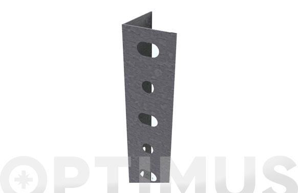 Angulo estanteria galvanizado p/35 2000 mm