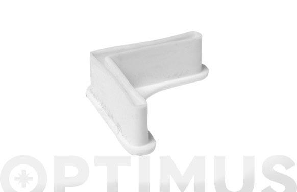 Pie estanteria gris p/40 sencillo
