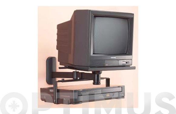 Soporte video/dvd bope tc0016 plata