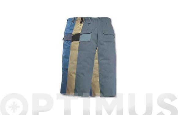 Bermuda bolsillos laterales beige t m