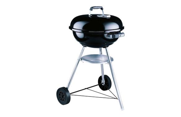 Barbacoa carbon compact kettle 47 cm negra