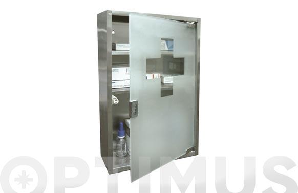 Botiquin glass vertical 40 x 30 x 12 cm