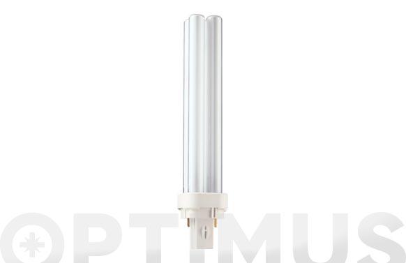 Lampara bajo consumo pl-c 26w g24d3 neutra (2p)