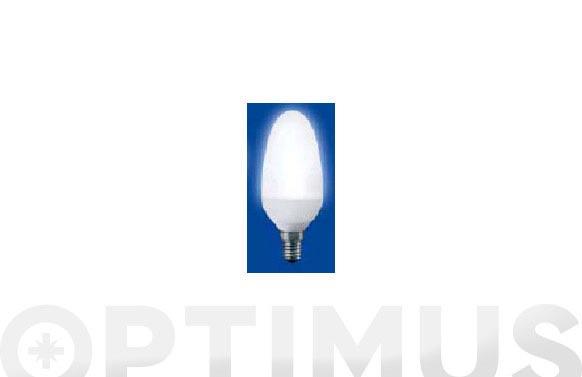 Lampara fluorescente d.super vela e14- 5 w-827