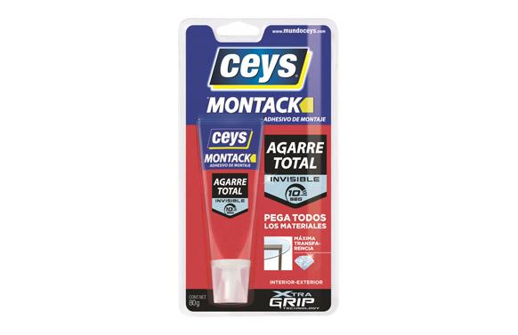 Adhesivo montaje montack transparente 80 ml