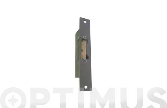 Cerradero electrico serie 30 placa-s gris ad automatico desbloqueo