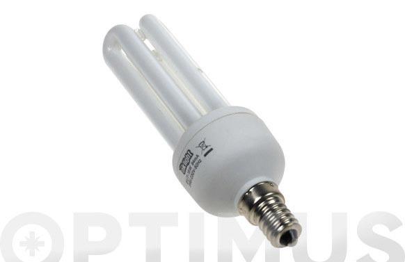Bombilla bajo consumo micro 3 tubos 15w/840 e-14
