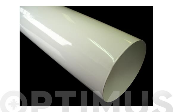 Tubo estanco aluminio ø100 1 m