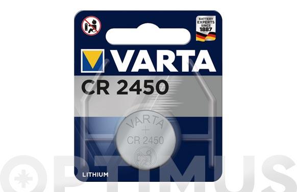 Pila litio boton blx1 cr2450 3v