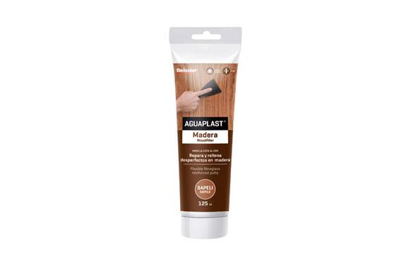 Masilla madera aguaplast 125 ml 3559 sapeli
