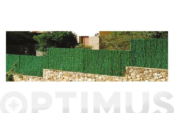 Seto artificial hoja fina 126 varillas verde 2 x 3 m