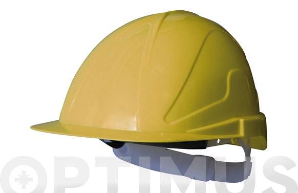 Casco obra con regulacion tirreno txr amarillo fluor