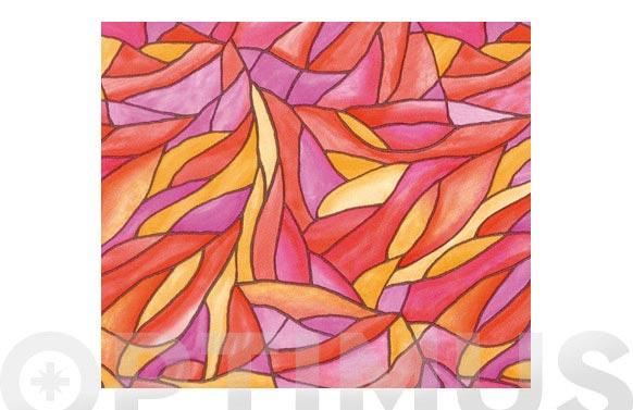 Lamina estatica 45cmx15m cefalu rosa