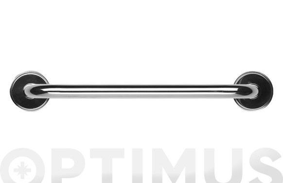 Asa de apoyo recta cromada 40 cm