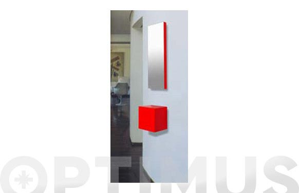 Mueble recibidor 25x25x20cm c103 blanco