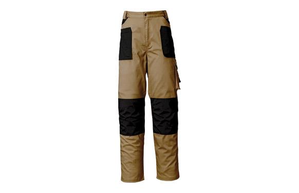 Pantalon stretch beige t. m