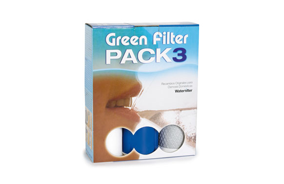 Recambio 3 filtro green filter