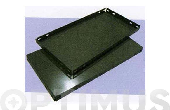 Bandeja estanteria gris oscuro 1000 x 300 mm