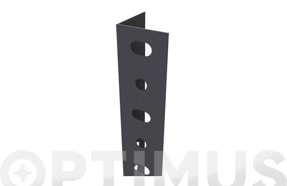 Angulo estanteria gris oscuro p/35 2500 mm