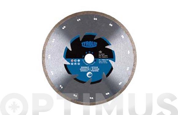 Disco diamante segmentado premium granito 115 x 1,2 x 22,2