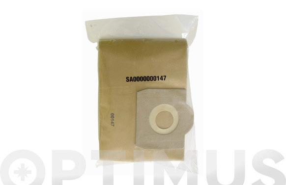 Bolsa papel aspirador 10 uds 16 l drako/cifec