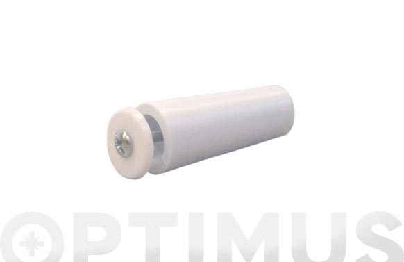 Tope persiana 55 mm blanco